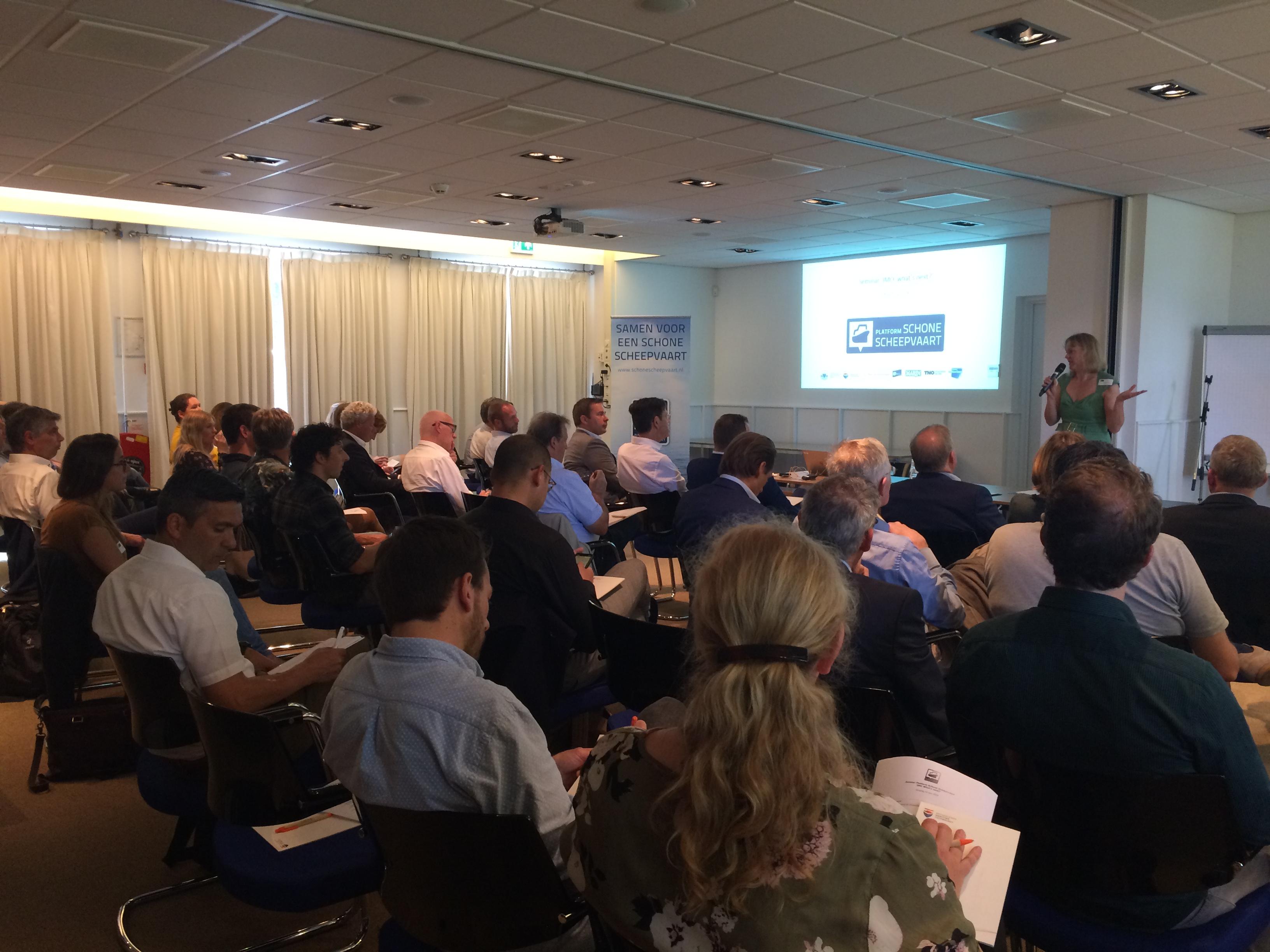 Seminar IMO: What's next geeft totaaloverzicht van emissie- en milieuregelgeving